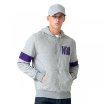 New Era Los Angeles Lakers Full Zip Hoodie