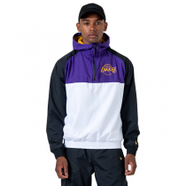 New Era NBA LA Lakers Hooded Windbreaker Jacket