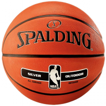 Bola Spalding NBA Silver Outdoor