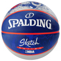 Spalding NBA Sketch Robot Ball