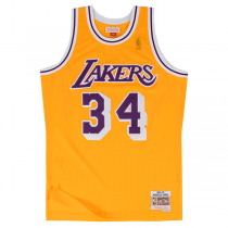 Camisola Mitchell & Ness Soul Swingman Shaquille O'Neal | LA Lakers 1996-97