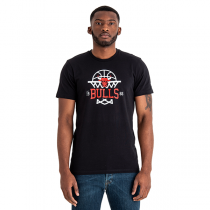 New Era Chicago Bulls League Net Logo Tee
