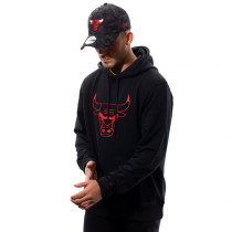 New Era NBA Chicago Bulls Pop Logo Hoodie