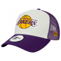 Boné New Era Los Angeles Lakers Team Color Block 9FORTY A-Frame Trucker
