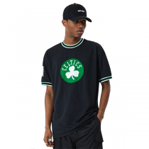 New Era Boston Celtics NBA Oversized Applique T-shirt