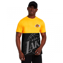 New Era Los Angeles Lakers NBA Large OTL Tee