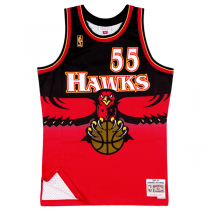 Camisola Mitchell & Ness Swingman Dikembe Mutombo | Atlanta Hawks 1996-97