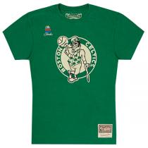 Mitchell & Ness NBA Boston Celtic Worn Logo Tee