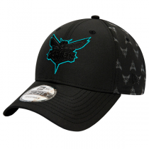 Boné New Era Charlotte Hornets NBA Nylon Black | 9FORTY