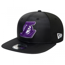 New Era Los Angeles Lakers Ripstop Front Black 9FIFTY Cap
