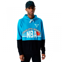 New Era NBA Charlotte Hornets Throwback Colour Block Hoodie