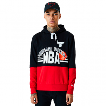 New Era NBA Chicago Bulls Throwback Colour Block Hoodie
