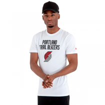 T-Shirt New Era NBA Portland Trail Blazers Team Logo