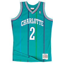 Camisola Mitchell & Ness Swingman Larry Johnson | Charlotte Hornets 1992-93
