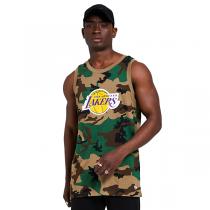 Camiseta sin mangas New Era Los Angeles Lakers NBA Camo