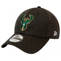 New Era NBA Milwaukee Bucks Black Base Team Pop Cap | 39THIRTY