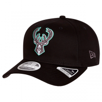 New Era NBA Milwaukee Bucks Neon Pop Outline Stretch Snap Cap | 9FIFTY