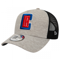 New Era LA Clippers Jersey Essential A-Frame Trucker Cap | 9FORTY