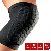McDavid HexPad Knee/Elbow Black