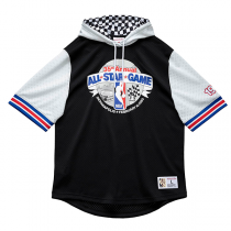 Mitchell and Ness All-Star Game Mesh Fashion Hoody   Indianapolis 1985