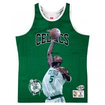 Mitchell and Ness Sublimated Player Tank Boston Celtics   Kevin Garnett