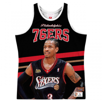 Mitchell and Ness Sublimated Player Tank Philadelphia 76ers | Allen Iverson