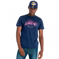 New Era Los Angeles Lakers Coastal Heat Infill Tee