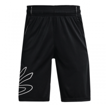 Under Armour Curry HoopsbYouth Short | Black