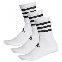 adidas 3-Stripes Cushioned Crew Socks | 3 Pairs