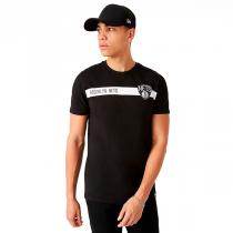 New Era Brooklyn Nets NBA Team Logo Black T-Shirt