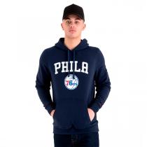 New Era Team Logo Hoodie | Philadelphia 76ers