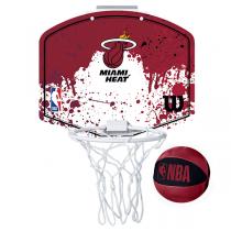 Wilson NBA Mini Hoop | Miami Heat