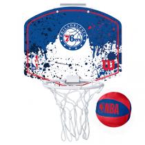 Wilson NBA Mini Hoop | Philadelphia 76ers