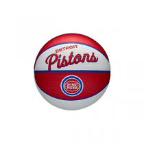 Mini Bola Wilson NBA Team Retro   Detroit Pistons