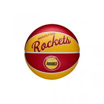 Mini Bola Wilson NBA Team Retro | Houston Rockets