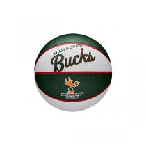 Mini Bola Wilson NBA Team Retro   Milwaukee Bucks