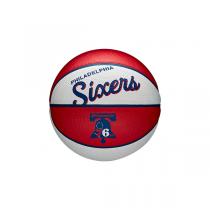 Mini Bola Wilson NBA Team Retro   Philadelphia 76ers