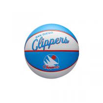 Mini Bola Wilson NBA Team Retro   San Diego Clippers