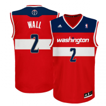 adidas NBA Camisola de jogo John Wall Washington Wizards