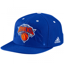 adidas  New York Knicks Flat Official Team Headwear Cap
