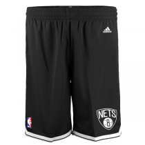 adidas NBA Brooklyn Nets Black Shorts