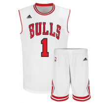 Youth NBA adidas Replica Chicago Bulls Derrick Rose