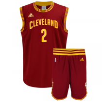 Youth NBA adidas Replica Cleveland Cavaliers Cavs Kyrie Irving