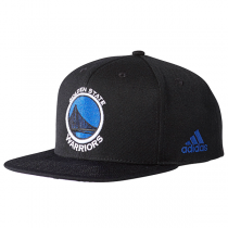 adidas NBA Golden State Warriors Flat Cap