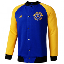 Golden State Warriors Washed Baseball Jacket