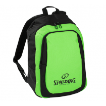 Spalding Essential Black Green Backpack