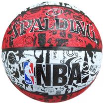 Bola Spalding NBA Graffiti