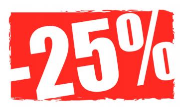 25% Promotion