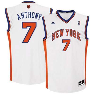 adidas Carmelo Anthony New York Knicks Jersey