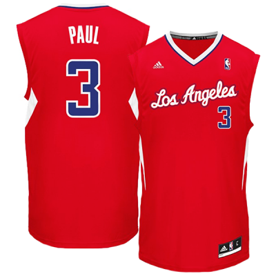 adidas Los Angeles Clippers Chris Paul Jersey